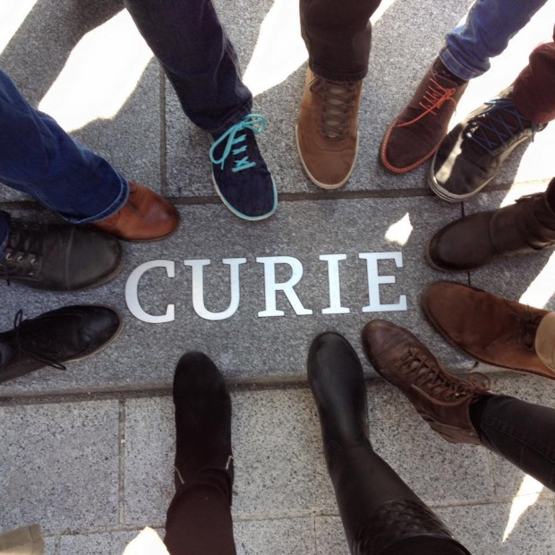 Curie ( Basel foot picture)